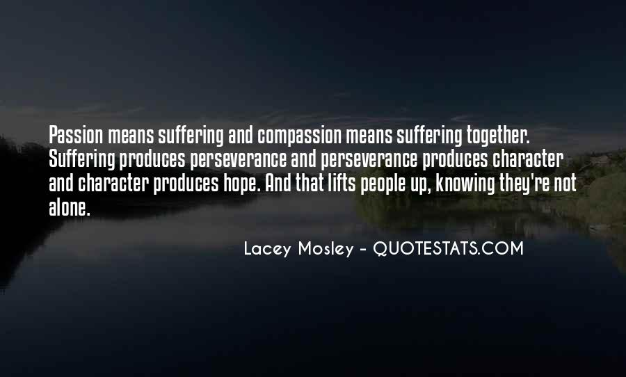 Lacey Mosley Quotes #1794713