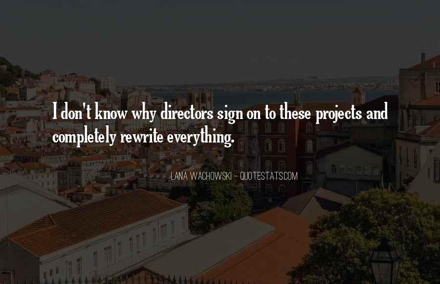 Lana Wachowski Quotes #1432201