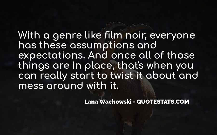 Lana Wachowski Quotes #861145