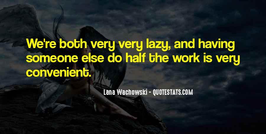 Lana Wachowski Quotes #917354
