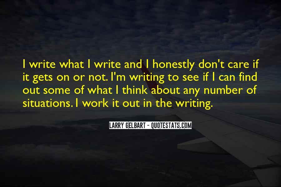 Larry Gelbart Quotes #943952