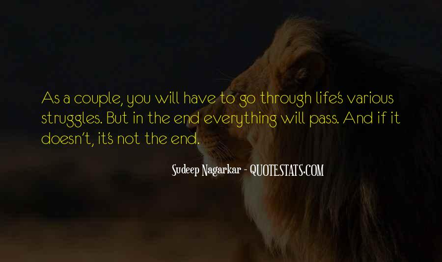 Quotes About Life And Struggles #1034552