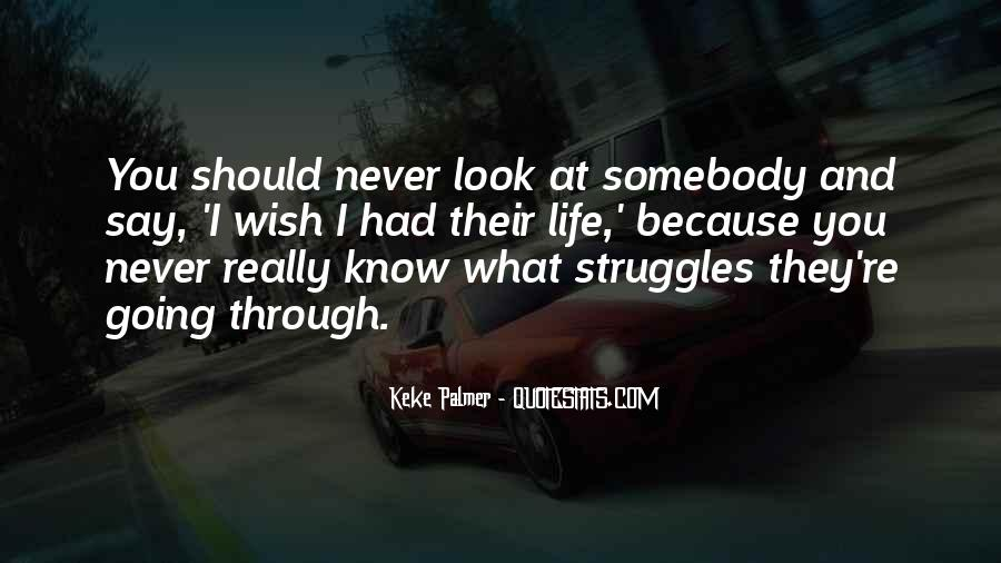 Quotes About Life And Struggles #387455