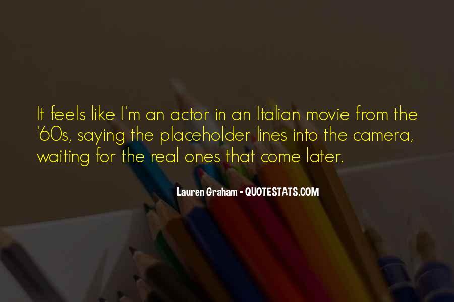Lauren Graham Quotes #90495