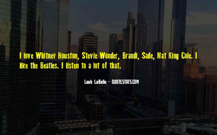 Leah Labelle Quotes #131308