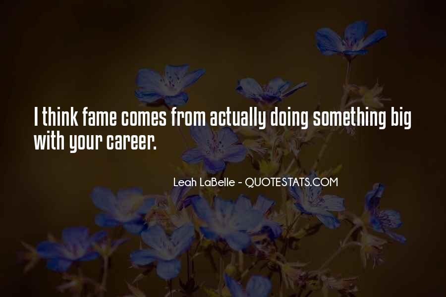 Leah Labelle Quotes #775427