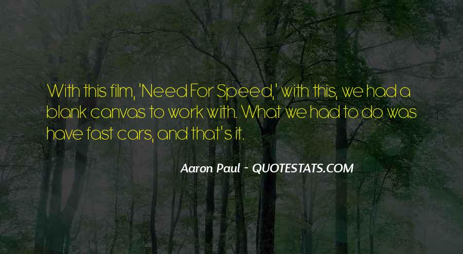 Quotes About Speed Cars #1274989