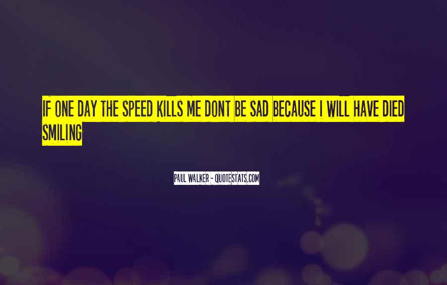 Quotes About Speed Cars #242891