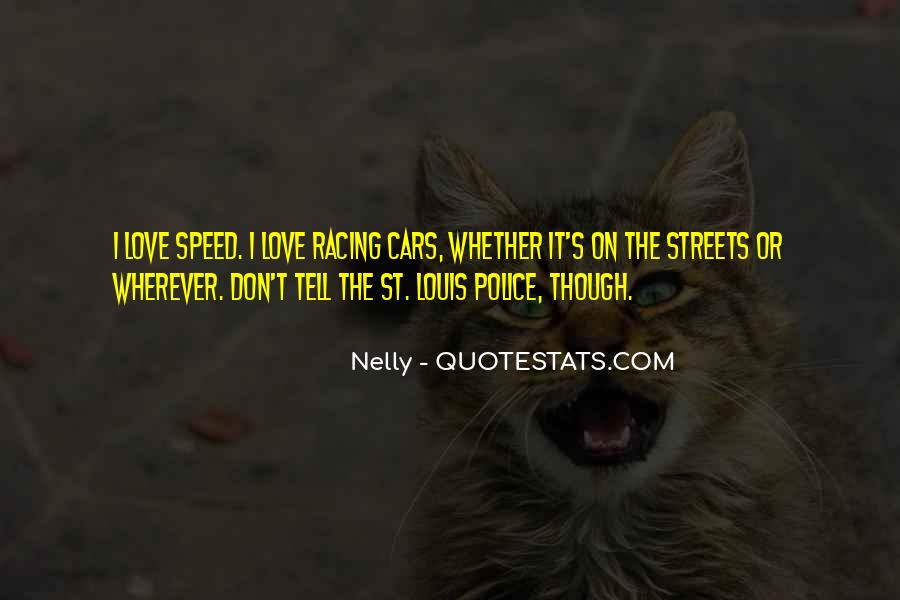 Quotes About Speed Cars #263869