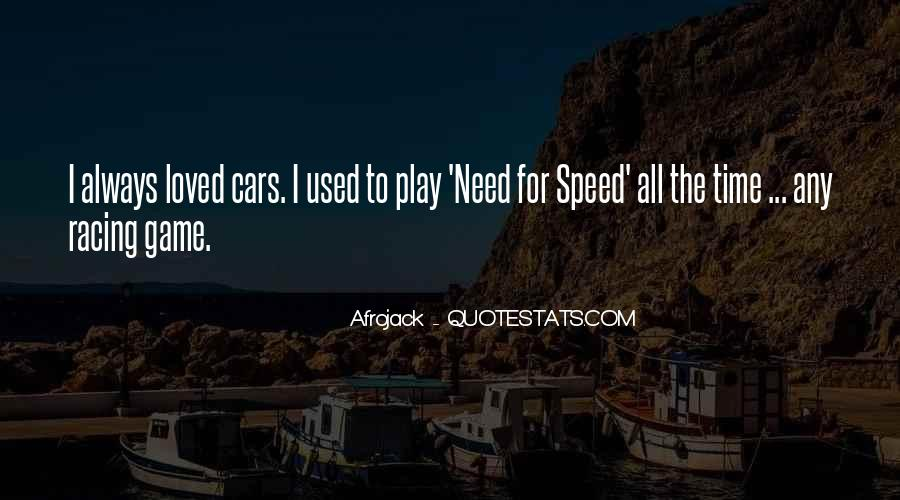 Quotes About Speed Cars #311082