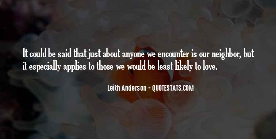 Leith Anderson Quotes #559165
