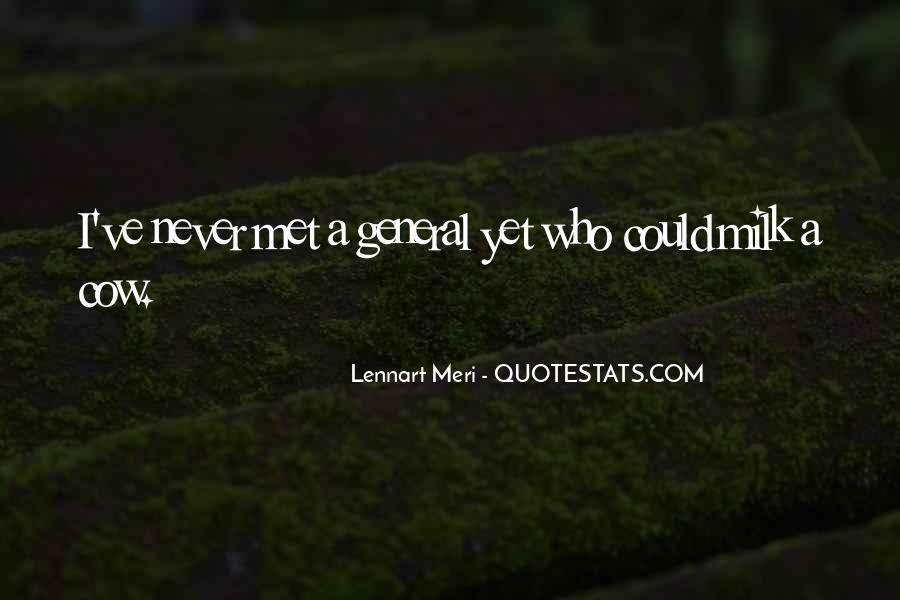 Lennart Meri Quotes #560628