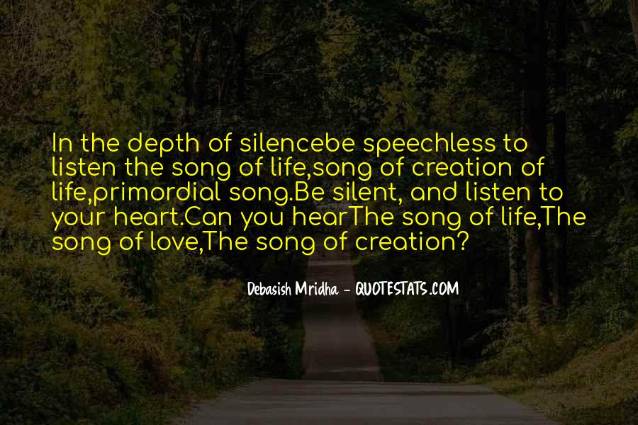 Quotes About Speechless Life #904578