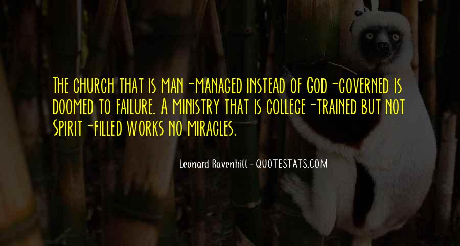 Leonard Ravenhill Quotes #101872