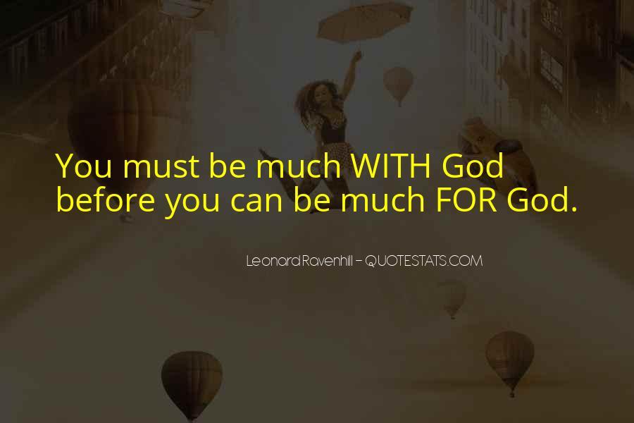 Leonard Ravenhill Quotes #208310