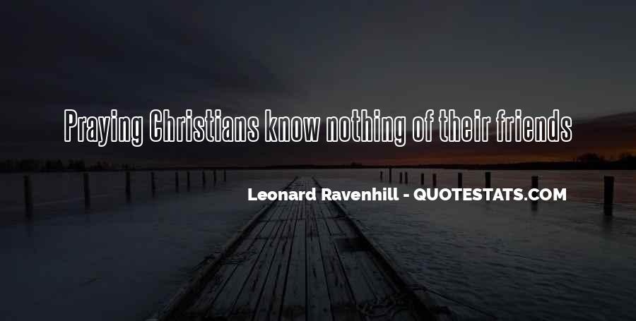 Leonard Ravenhill Quotes #219139