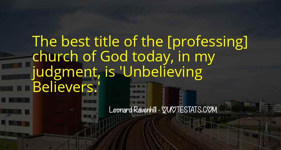 Leonard Ravenhill Quotes #275498
