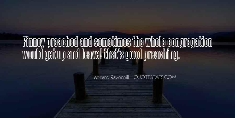 Leonard Ravenhill Quotes #292677
