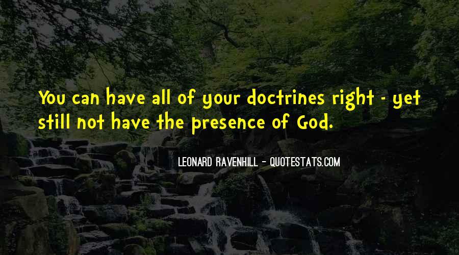 Leonard Ravenhill Quotes #300414