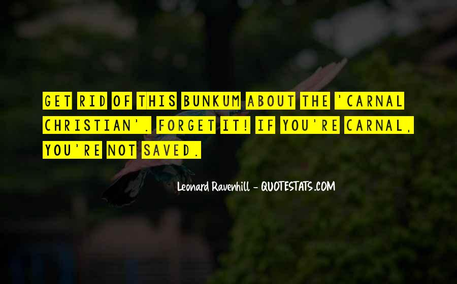 Leonard Ravenhill Quotes #324532
