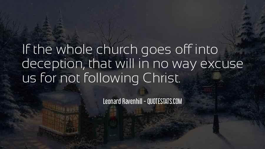 Leonard Ravenhill Quotes #362609
