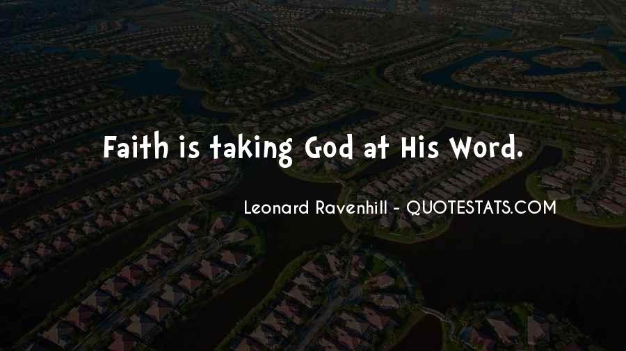 Leonard Ravenhill Quotes #373069