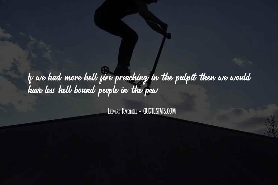 Leonard Ravenhill Quotes #374279