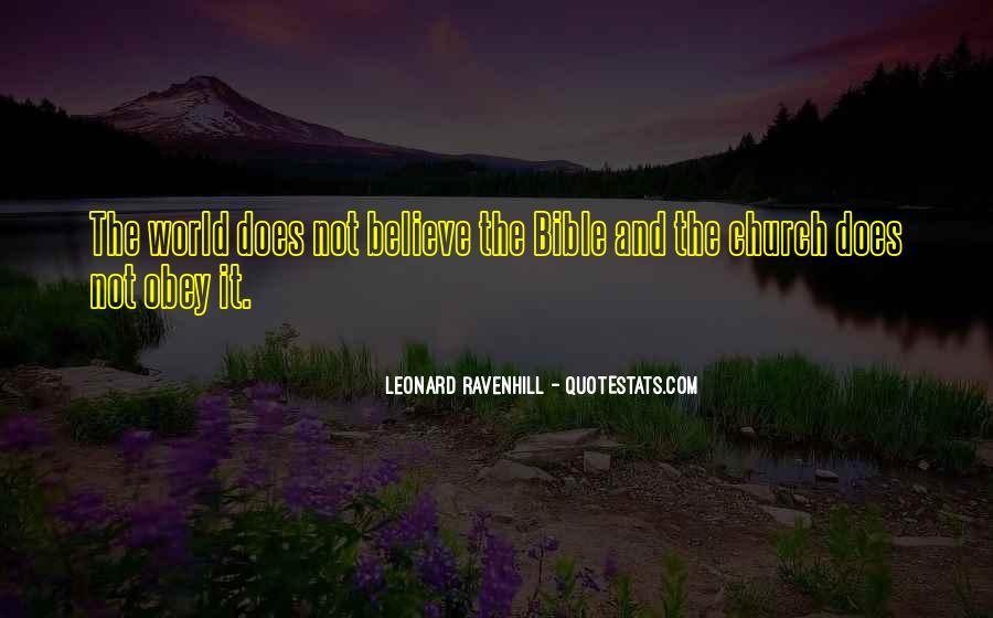 Leonard Ravenhill Quotes #392328