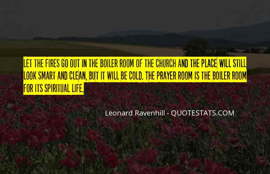Leonard Ravenhill Quotes #400932