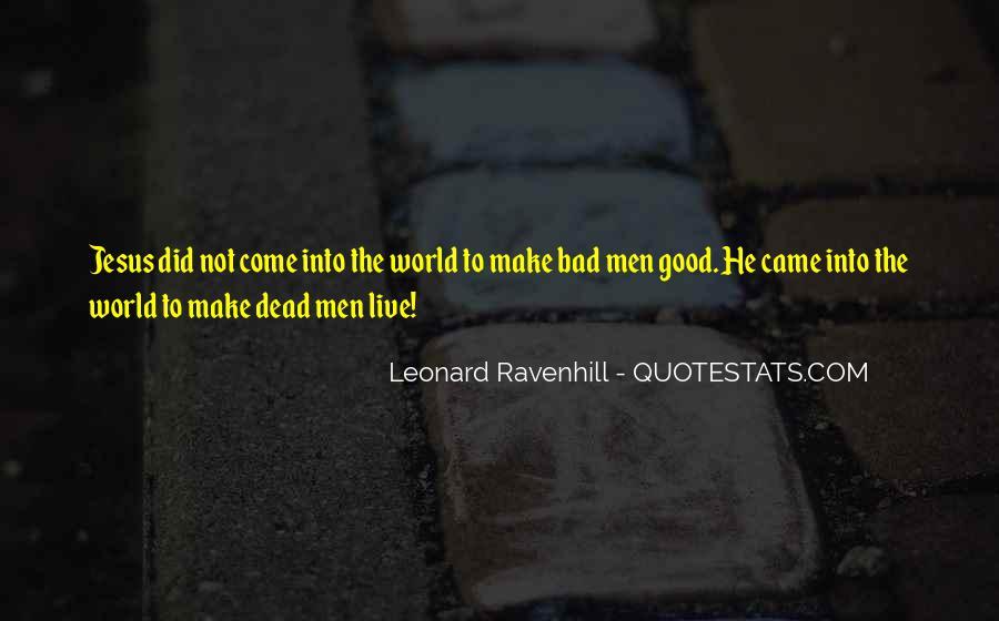 Leonard Ravenhill Quotes #469444