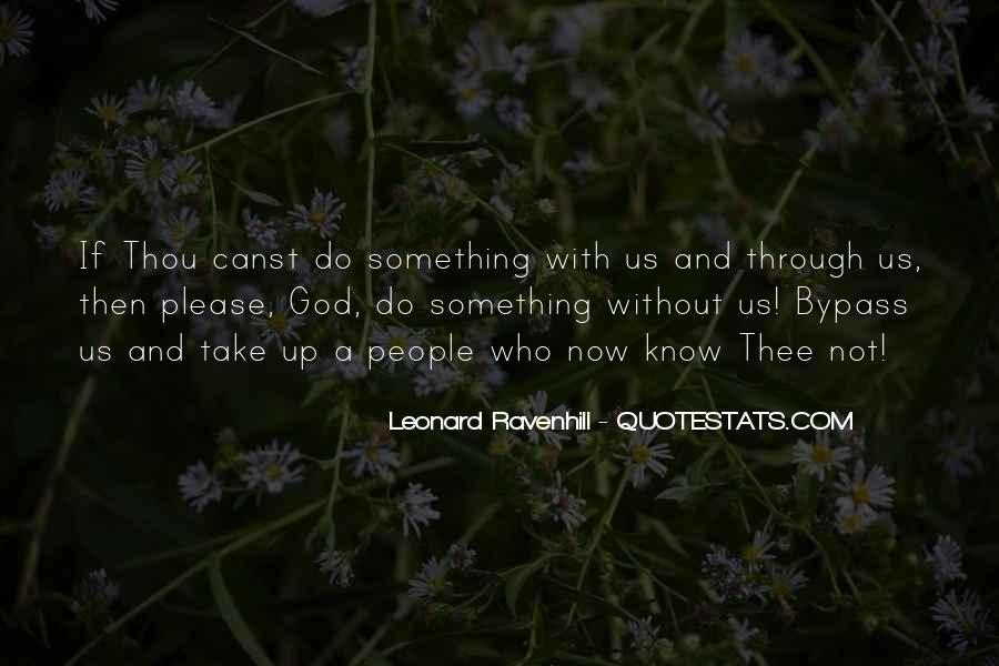 Leonard Ravenhill Quotes #547451