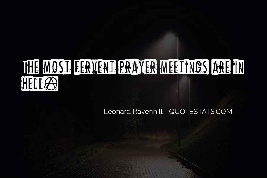 Leonard Ravenhill Quotes #586631