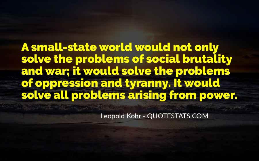 Leopold Kohr Quotes #818863