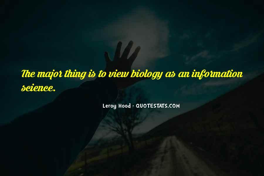 Leroy Hood Quotes #1149575