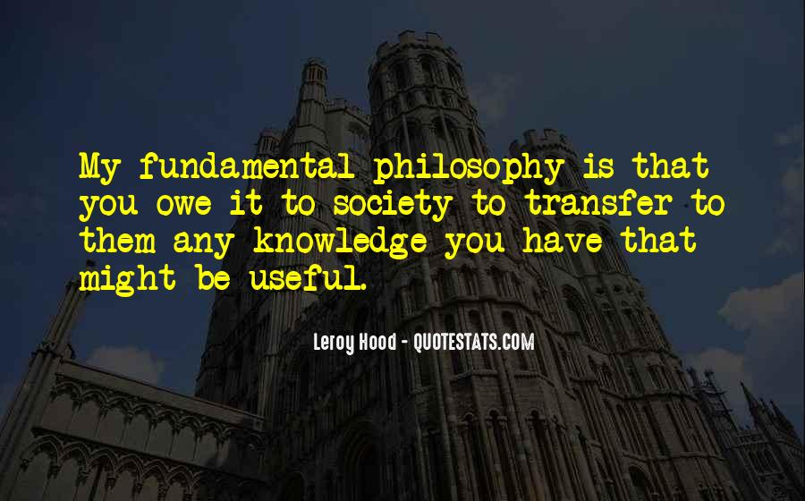 Leroy Hood Quotes #1755623