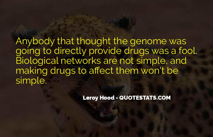 Leroy Hood Quotes #1839107