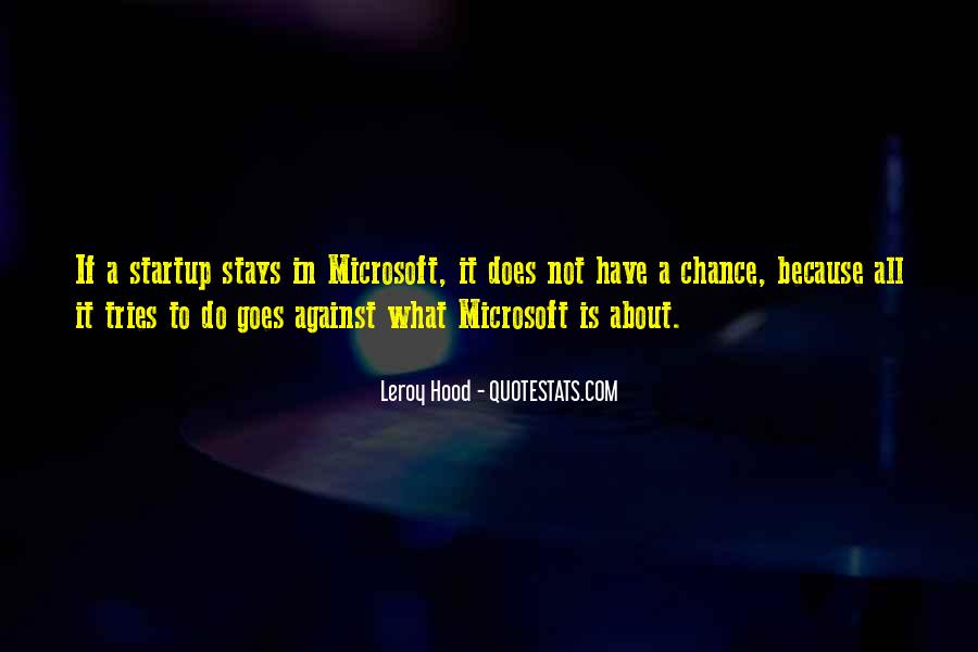 Leroy Hood Quotes #318217