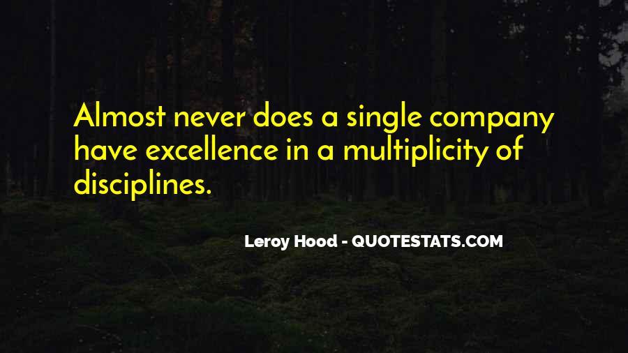Leroy Hood Quotes #65175
