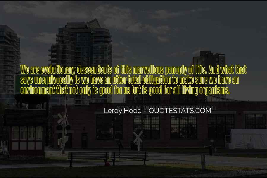 Leroy Hood Quotes #759179