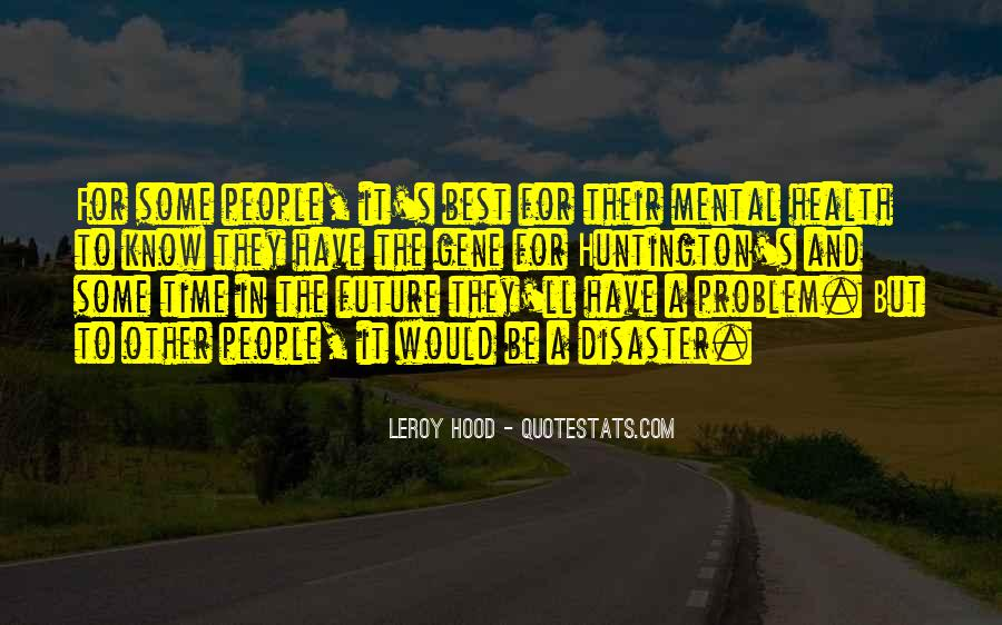 Leroy Hood Quotes #89345