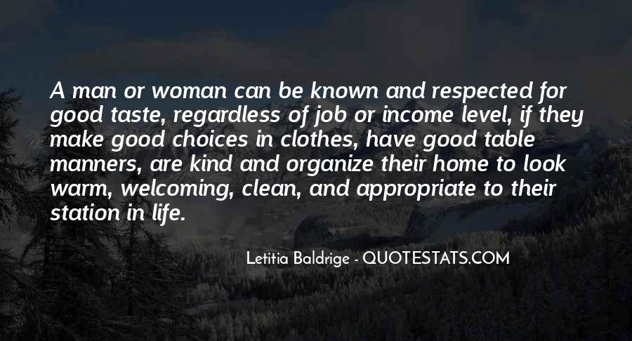 Letitia Baldrige Quotes #1391226