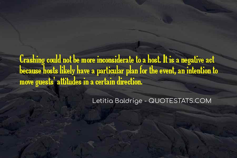 Letitia Baldrige Quotes #1757173
