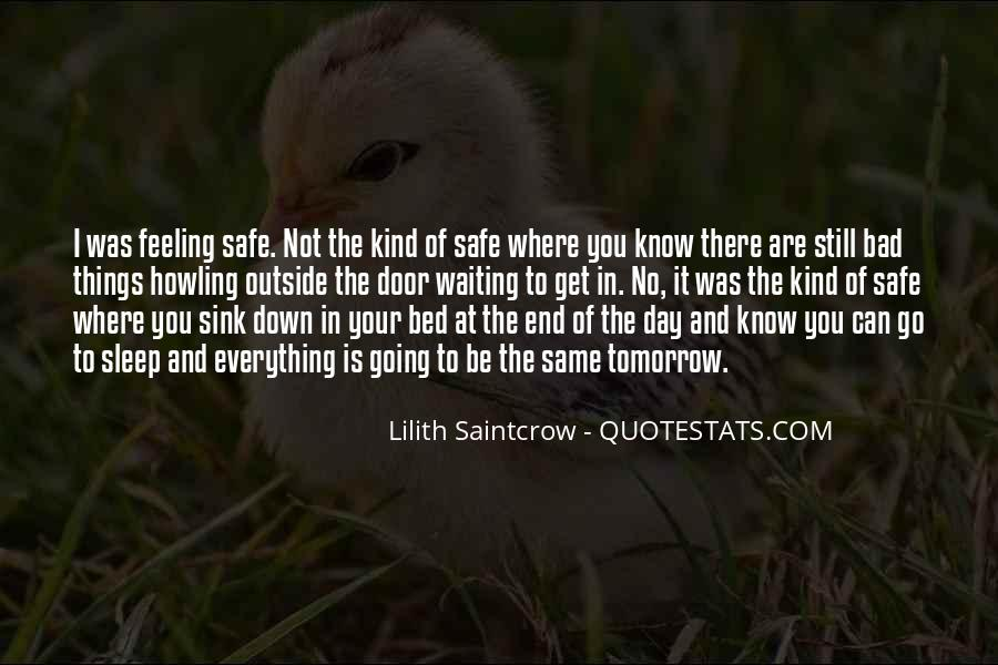 Lilith Saintcrow Quotes #1178551