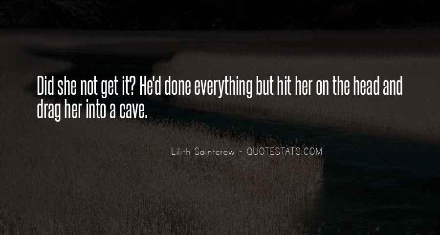 Lilith Saintcrow Quotes #131245