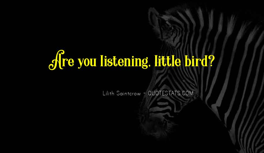 Lilith Saintcrow Quotes #52260