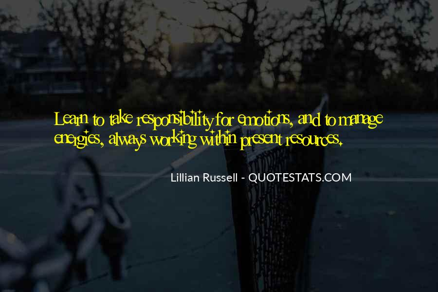 Lillian Russell Quotes #888433