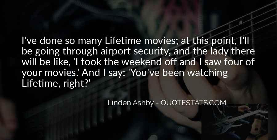 Linden Ashby Quotes #464328