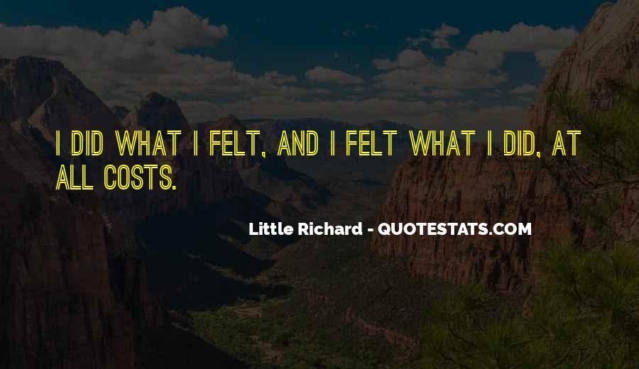 Little Richard Quotes #287612