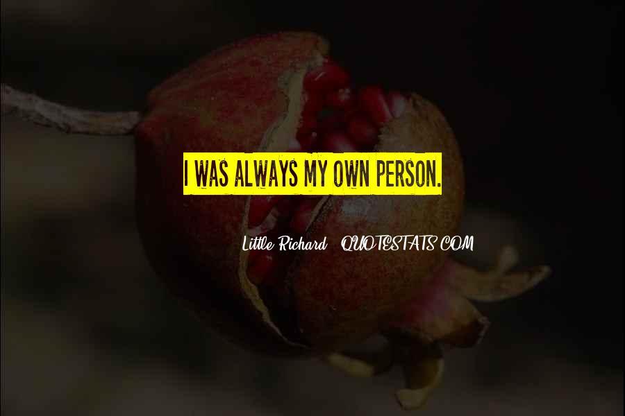 Little Richard Quotes #9868