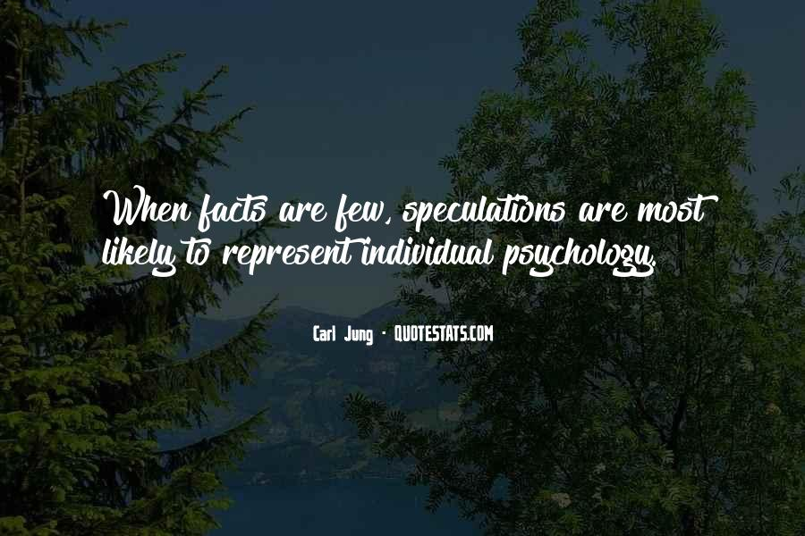 Quotes About Speculations #1219115